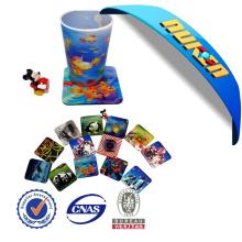 Custom OEM 3D Lenticular Cup Coaster