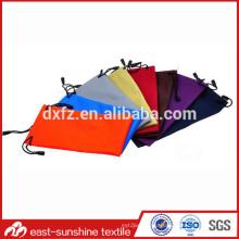 fashion high quality microfiber drawstring pouch,promotion custom design microfiber glasses pouch