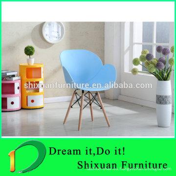 asiento moderno de las piernas de madera silla moderna de la sala de estar