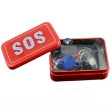 2016 novo SOS Táctico sobrevivendo kit Emergência SOS Survival kit for camping