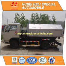 DONGFENG LHD/RHD 4x2 5M3 hydraulic lifting garbage truck 95hp cheap price hot sale