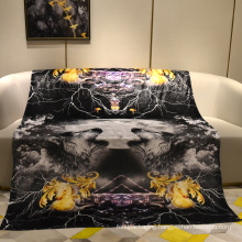 animal products wolf sublimation  blanket