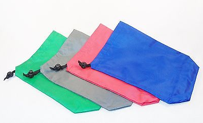 Colorful Nylon Drawstring Pouches
