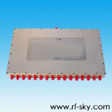 high power 0.8-2.8GHz port 1 to 16 rf power Splitter made in China