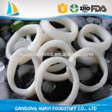 Anneau de calmar congelé complètement sain et excellent fruits de mer