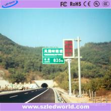 P10 красный цвет светодиодный дисплей панели экран на высокий путь
