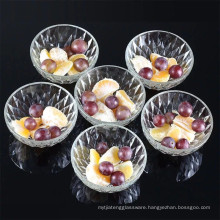 eco-friendly glass bowl set with color box