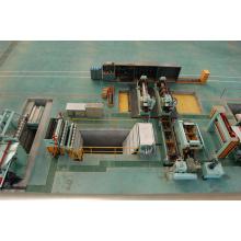 Machine de cisaillement entièrement automatique de machine de refendage de fer d'acier de tôle