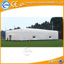 Tenda inflável do evento do cubo, tenda inflável da casa, barraca inflável branca do gramado