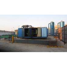 Grupo de gerador industrial do gás natural de Mannhein do OEM dos geradores Lvhuan 800kw para a água de geração home elétrica do poder de refrigeração