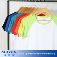 Sublimation Polyester Short Sleeve Tshirts for Kids