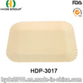 Natural Square Bamboo Disposable Party Plate (HDP-3017)