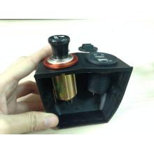 12V морской/автомобиль/мотоцикл автомобиль гнездо/двойной USB Автомобильное зарядное устройство Разъем/выход/Разъем