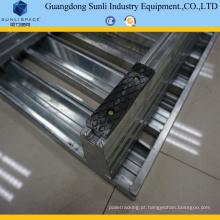 Pálete de aço galvanizado tamanho padrão 1.5t 1200X1000 inoxidável