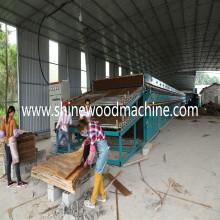 Precio del secador de chapa de madera contrachapada para la venta caliente