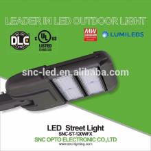 O dispositivo elétrico claro de rua do diodo emissor de luz da eficiência elevada 120W do preço de fábrica com UL DLC aprovou