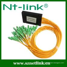 1x32 fibra óptica módulo plc divisor