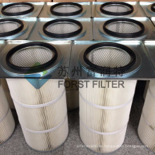 FORST Spätestes Design Square Flange Shot Strahlen Staub Collector Filter Kartusche