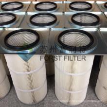 FORST O mais atrasado projeto Quadrado Flange Tiro Blasting Dust Collector Filtros Cartridge