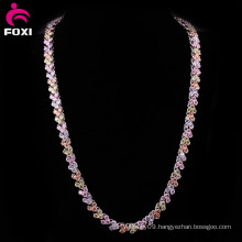 High Quality Gemstone Gold Filled Chain Necklace