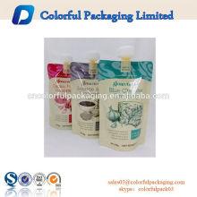 500g de suco de vitamina bico bico de recarga de líquidos sacos para churrasco molho de embalagem
