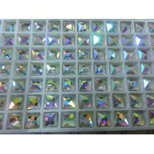 Piedras preciosas cuadradas del arreglo caliente del color del Ab