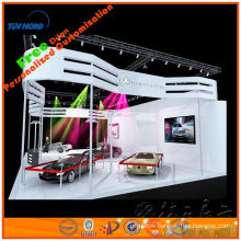 Présentoir en treillis d'exposition de 10 'x 10' en aluminium, petit support de botte fait dans le Changhaï original supplier000916