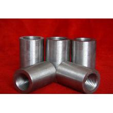 45# carbono sólido Rebar de aço roscado manga (14-40mm)-- fábrica