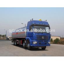 Camión tanque de combustible Shacman 8X4 drive para capacidad de 20-35 metros cúbicos