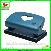 two holes metal craft puncher, fancy hole puncher with plastic ruler