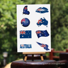 flag tattoo sticker all country 2016 new fashion temporary body water transfer printing