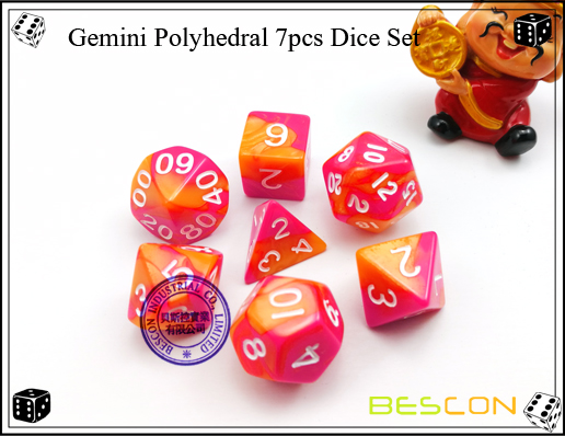 Gemini RPG Dice Set-11