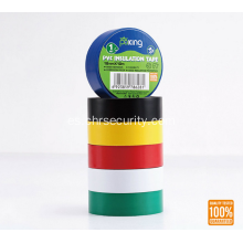 Europa Mercado Color Rojo Hot Melt PVC Insulation Tape