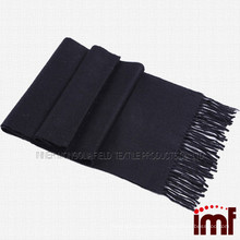 Long Plain Color Merino Woolen Scarf