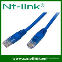 Couleur grise Raccordement rapide UTP Cat5e Patch Cable 1Meter