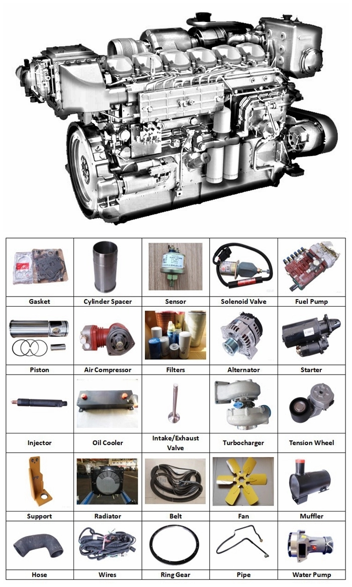 weichai engine spare parts
