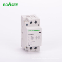 China Supplier EBASEE 4 Pole 4NO 20A Household AC Mini Contactor