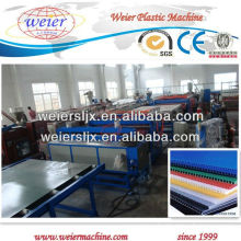 Hot sale PP hollow grid sheet production line