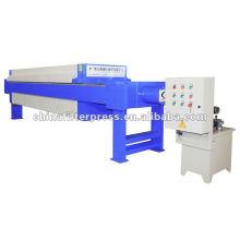 Solid Liquid Seperation Ausrüstung Filterpressen