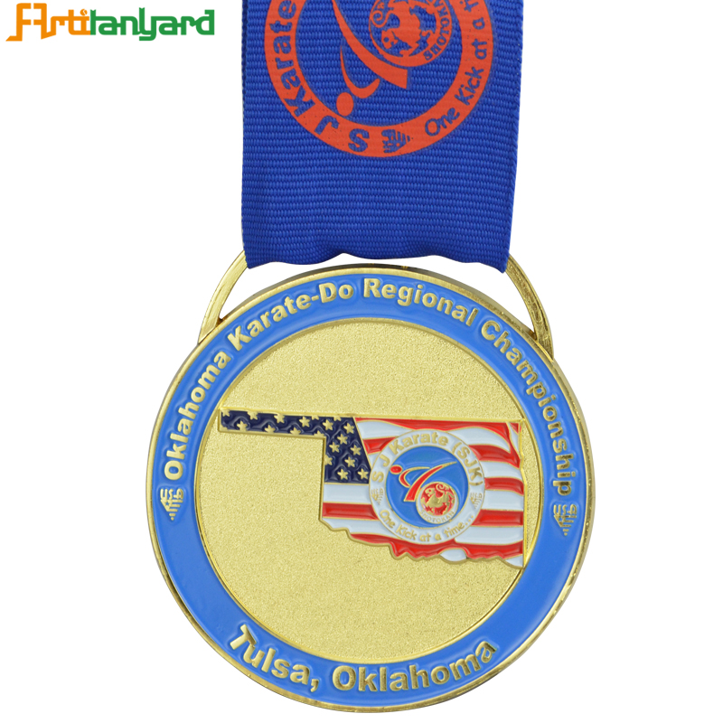Medal With Different Plating For Man