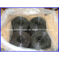 Fil de cravate à grille de petite bobine / fil de fixation noir ou HDG