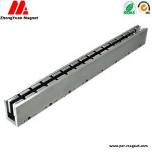 Постоянный блок Неодимовый магнит NdFeB для линейного двигателя