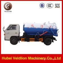 Dongfeng Brand 4X2 LHD/Rhd 6cbm Sewage Tanker Truck