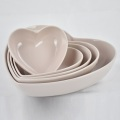 Salad and Fruit Home Heart Shaped Kitchen Bowl
