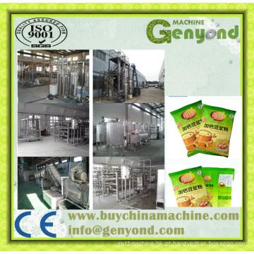 Linha de processamento de farinha de soja instantânea totalmente automática