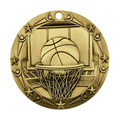 3 tums Basket Themed World Class Medal