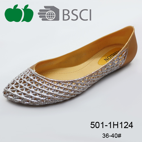 simple ladies flat casual shoes