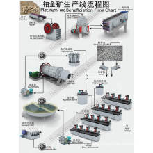 Mineral Benefication Processing Line for Platinum Gold with Crusher