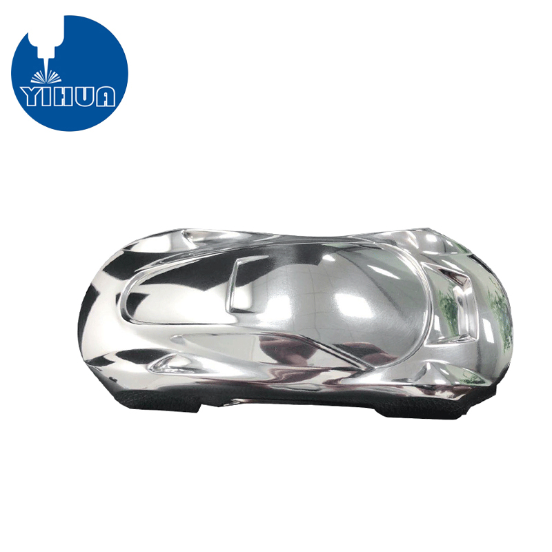 5 Axis Machined Shiny Aluminum Car Model