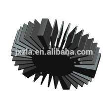 Hot sale Efficiency round led aluminum extruded LED heat sink/LED radiator